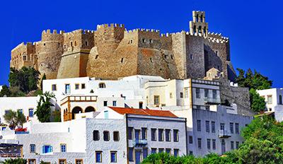 Укрепеният манастир на остров Патмос