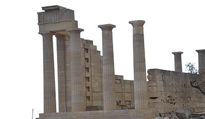 Древния град Камирос на остров Родос