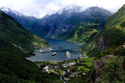 фиорди в Норвегия