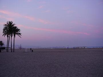 Плаж във Валенсия