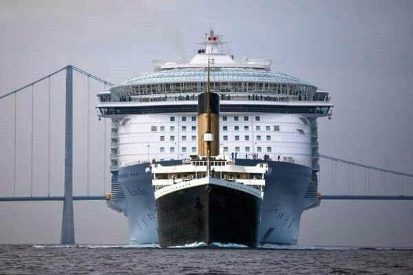 Титаник сравнем с кораб