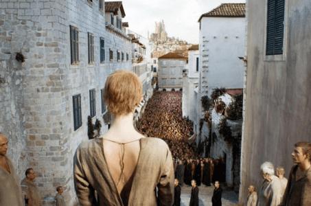 Похода на срама в Дубровник Jesuit Staircase в Игра на тронове