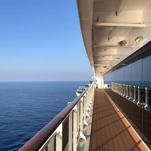 Какви са мерките на кораба?