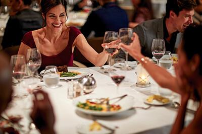 Celebrity Solstice ресторанти на борда