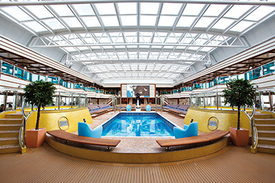 Costa Deliziosa забавления на борда