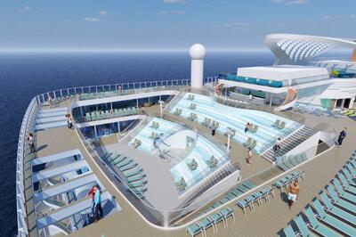 Costa SMERALDA забавления на борда