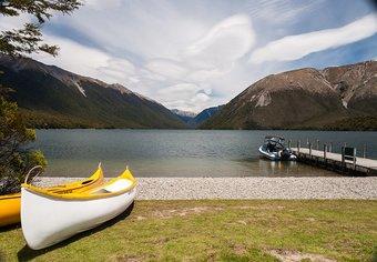 New Zealand canoe
