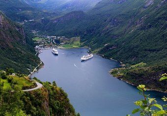 Norway Cruise fiords