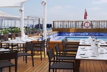 Cunard Onboard pool