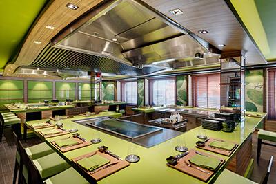 MSC Bellissima ресторанти на борда