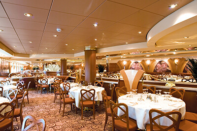 MSC Musica ресторанти на борда